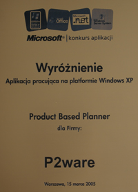 Product Based Planner - Best Application for Windows XP